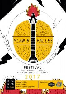 'Plan B Falles Festival', propuesta alternativa musical para disfrutar las Fallas de València