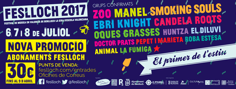 Festlloch, el festival de música en valenciano, anima el verano
