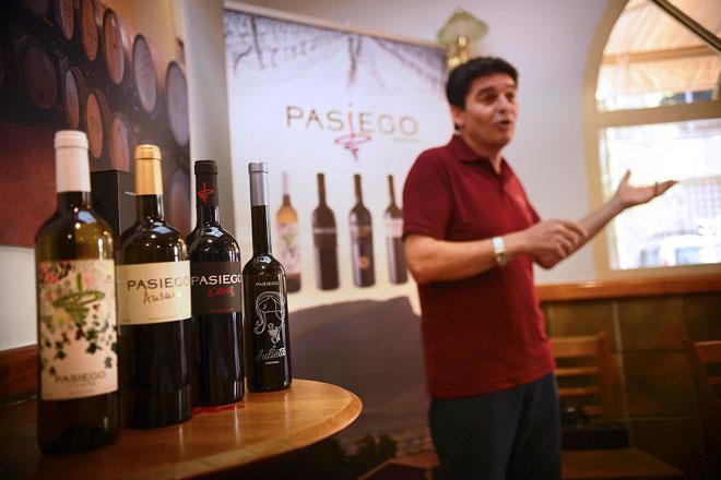 Pasiego presenta sus 'Vinos de Familia' y sorprende con un dulce natural botritizado