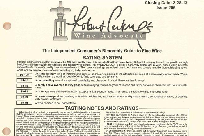 Michelin entra en el mundo del vino con el 40% de The Wine Advocate de Robert Parker