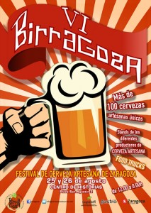 Birragoza prepara sus grifos de cerveza artesanal en Zaragoza