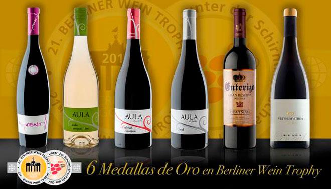 Coviñas triunfa con 6 Oros en el Berliner Wein Throphy