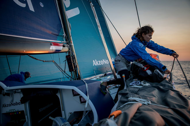 team AkzoNobel James Blake Volvo Ocean Race