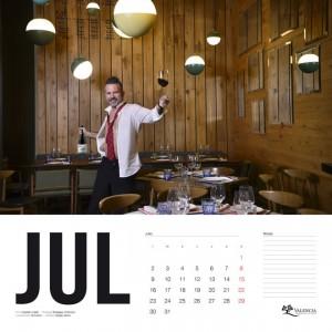 Calendario Solidario 2018 do Valencia Sergio Serra