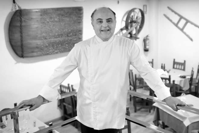 El Pesebre, Graus. Cocina actual con productos de cercanía, al frente de los fogones está su propietario, Javier Turmo
