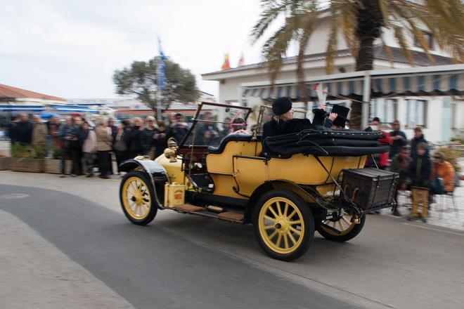 Más de 100 vehículos de época tomarán la salida en el Rally Barcelona-Sitges