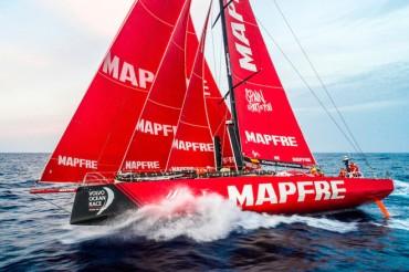 El MAPFRE consigue el mejor resultado de la historia en la VOR Vuelta al Mundo a vela