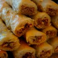 Pistachos, nueces, miel y agua de azahar para un baklava perfecto