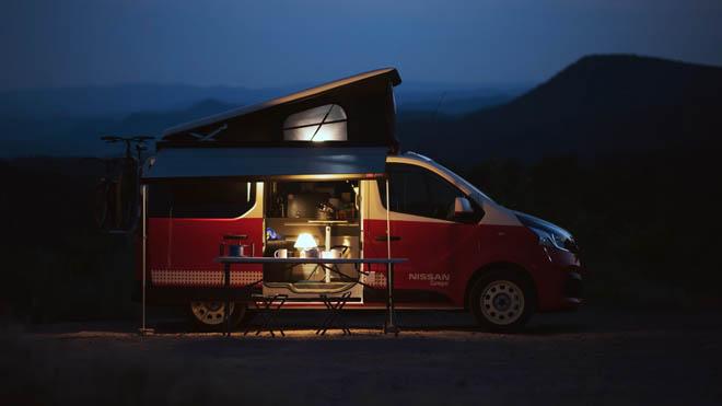Nissan Camper el vehículo ideal para ir de aventura