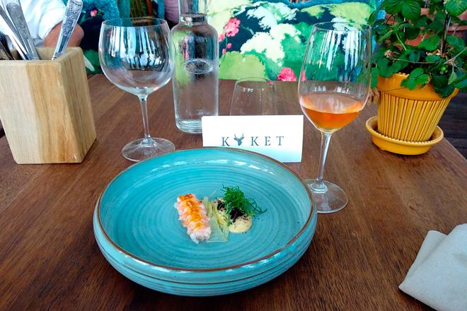 Pigar Orange Wine. Vuelven los antiguos vinos brisados, Restaurante Köket