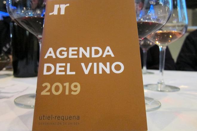 Ya puedes descargar la Agenda del Vino 2019 de Utiel Requena