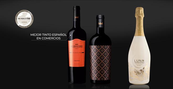 Bodegas Murviedro es premiada con siete oros en los Mundus Vini y Berliner Wein Trophy, los certámenes más prestigiosos que se entregan en Alemania