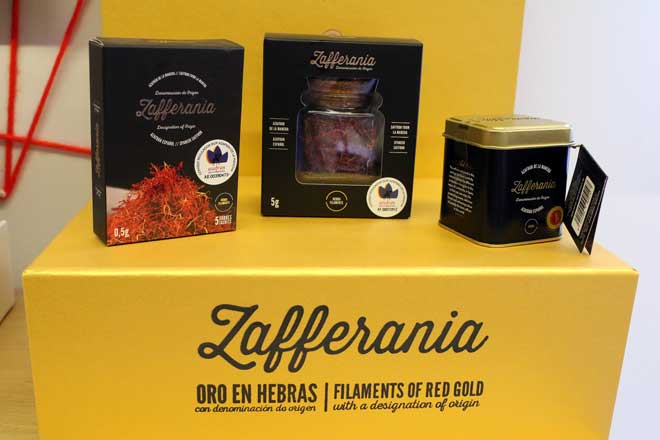 Zafferania, el azafrán Premium de Verdú Cantó Saffron Spain con DO La Mancha