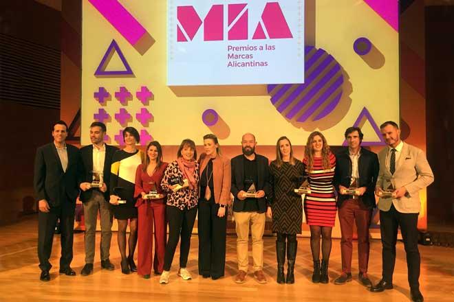 La DO Alicante recibe el premio MIA a la estrategia de marca