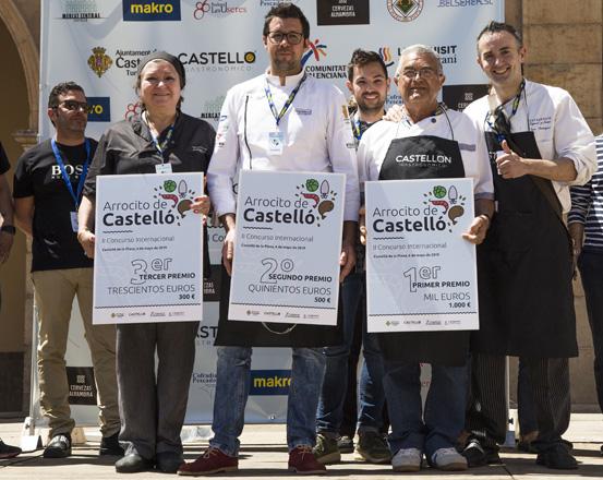Paco Rodríguez, ganador del mejor 'Arrocito de Castelló'