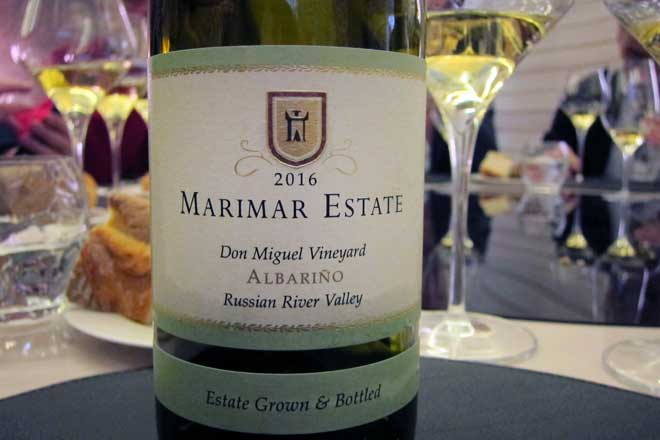Albariño con acento californiano. Marimar Estate Vineyards and Winery