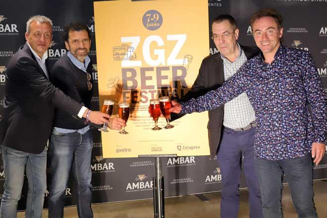 Zaragoza Beer Festival acoge a 36 cerveceros independientes en la fábrica de La Zaragozana