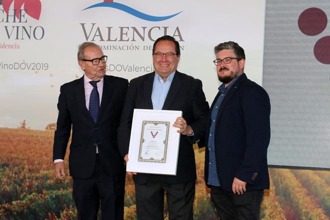 CIMERA, de Clos Cor Ví, 'Mejor Vino Blanco' en la Noche del Vino, donde reveló también la nueva imagen de VERSAT de Verdil
