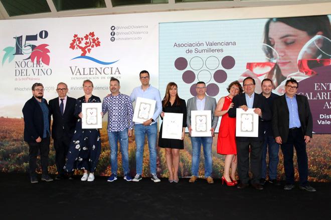 Cerca un millar de profesionales arropan la xv edición de la Noche del Vino de la DO Valencia