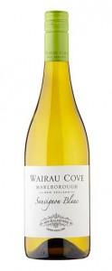 Wairau Cove, un Sauvignon Blanc fresco y punzante de Marlborough, la región vinícola más vanguardista de Nueva Zelanda