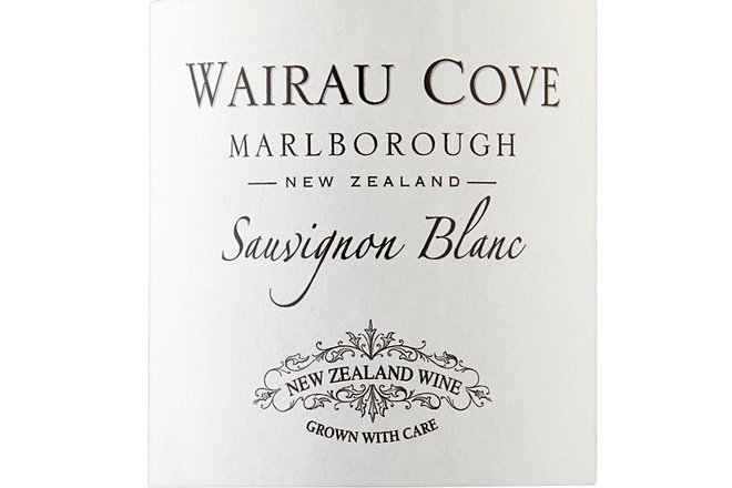 Wairau Cove, a fresh and zesty Sauvignon Blanc from the most avant-garde region of New Zealand