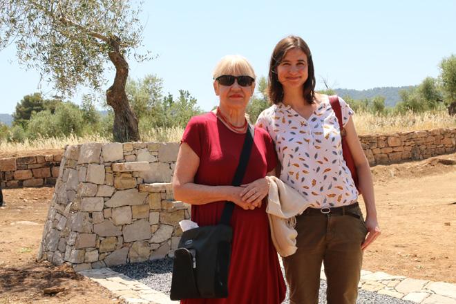 La Huella, de Eva Lootz, en La Vinya dels Artistes de Mas Blanch i Jové