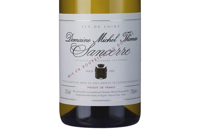 Domaine Michel Thomas Sancerre 2018, un Sauvignon Blanc suave, elegante y complejo del Valle de Loira