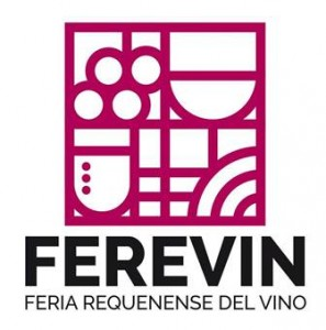 Logo Feria Requenense del Vino, FEREVIN,