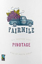 The Fair Mile Fair Trade Pinotage 2018, un tinto elaborado con la variedad emblemática de Sudáfrica