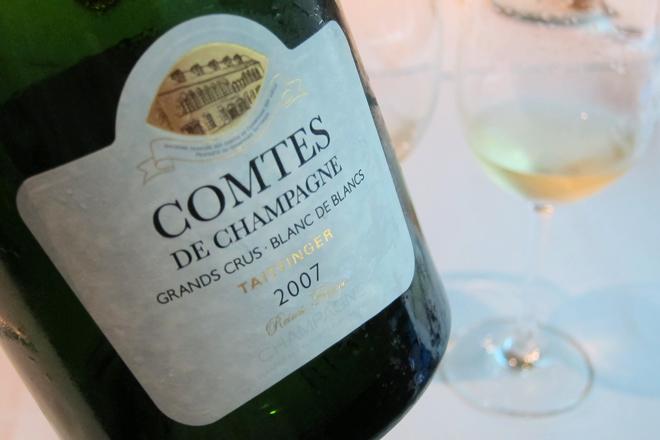 Comtes de Champagne Taittinger Blanc de Blancs 2007