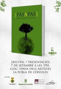 Pas a pas, el libro que narra e ilustra Les Garrigues se presenta en La Vinya dels Artistes