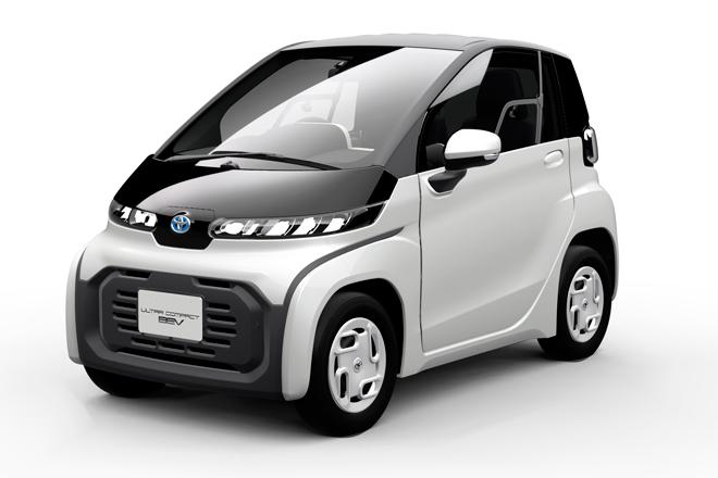 Ultra-compact, el vehículo eléctrico de Toyota diseñado para los trayectos cortos