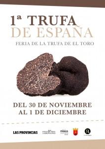 La primera Tuber melanosporum del año se presenta en La Feria de la Trufa de El Toro, que marca el inicio de la temporada