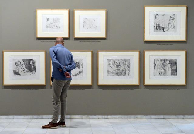 Picasso, Modelos del Deseo Fundaci´ñon Bancaja, Valencia