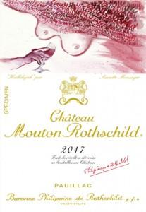 Château Mouton Rothschild da a conocer la etiqueta que vestirá sus botellas de la añada de 2017, diseñada por la artista Annette Messager