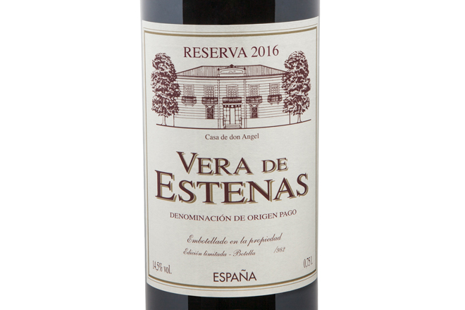 Pago Vera de Estenas Reserva, el vino de las ocasiones especiales