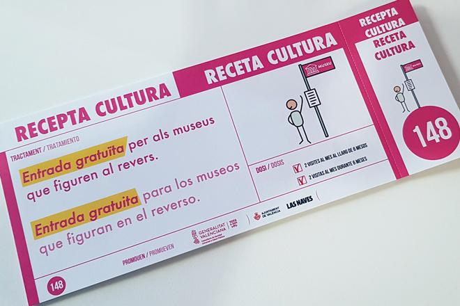 'Receta Cultura' es un proyecto de colaboración entre diferentes instituciones que utiliza a los museos como activos en salud para las personas