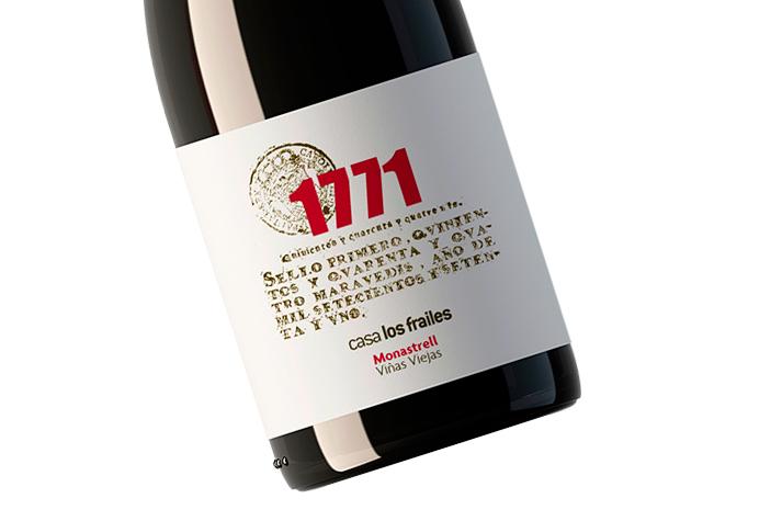 Casa Los Frailes 1771 Viñas Viejas 2015. Monastrell mediterráneo con frescura continental