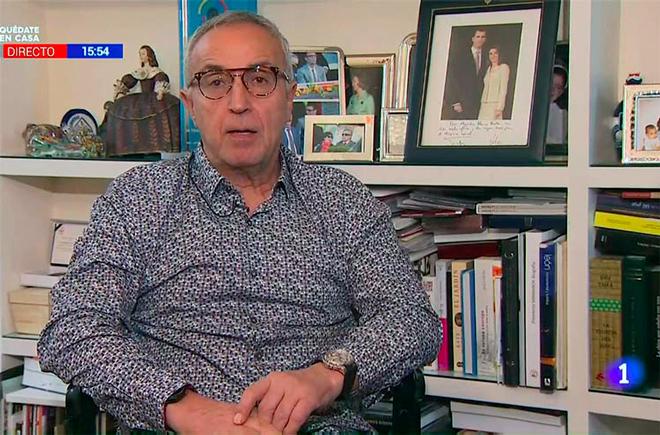 Alejandro Blanco, presidente del Comité Olímpico Español