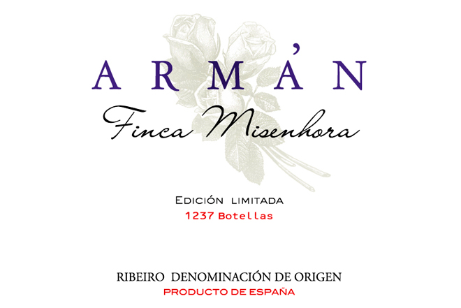 Casal de Armán Finca Misenhora 2016, the flavours of sabrego in the form of liquid gold