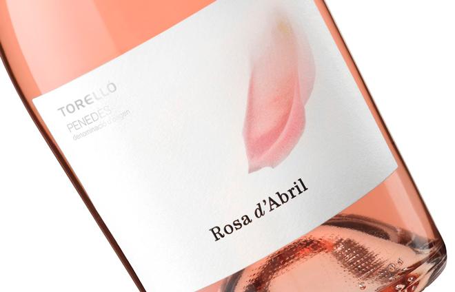 Rosa d'Abril, de Torelló Viticultors, un vino elegante que hace honor a su significativo nombre
