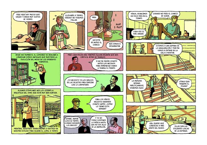 El IVAM celebra el Día del Libro con la descarga gratuita del cómic de Paco Roca