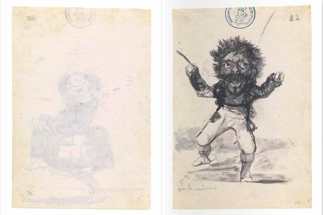 El Museo del Prado recompone el famoso Cuaderno C de Francisco de Goya en un libro único