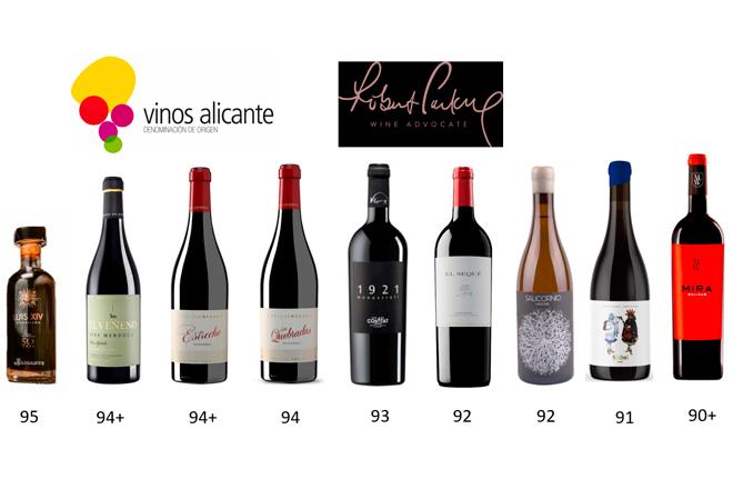 Vinos, Alicante, Parker, The Wine Advocate
