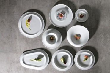Gotas, la vajilla diseñada por Ximo Roca que se inspira en la lluvia