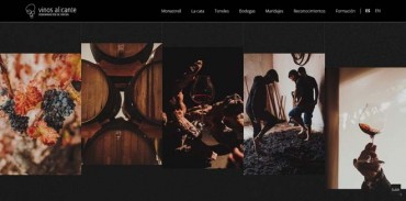 Renovación total en la web del Fondillón