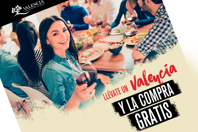 El carro de la compra te puede salir gratis con vinos DO Valencia