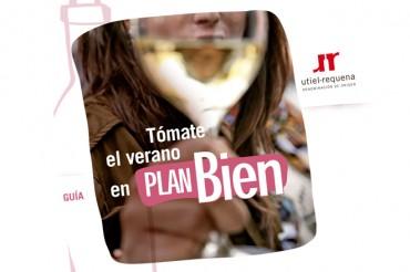 La DO Utiel-Requena publica la guía EN PLAN BIEN con 38 vinos para este verano